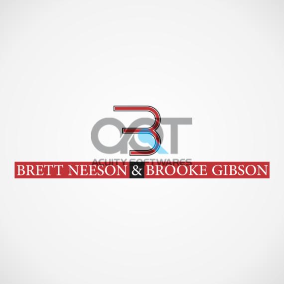 BRETT NEESON & BROOKE GIBSON Logo