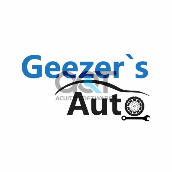 Geezer's Auto Logo