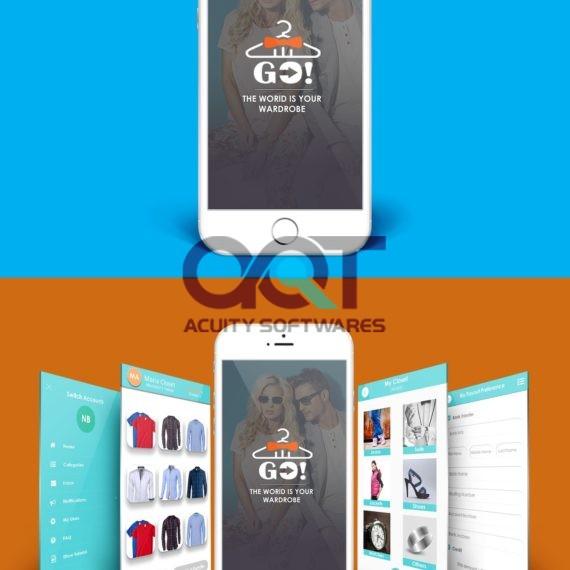 Go Shopping App Design
