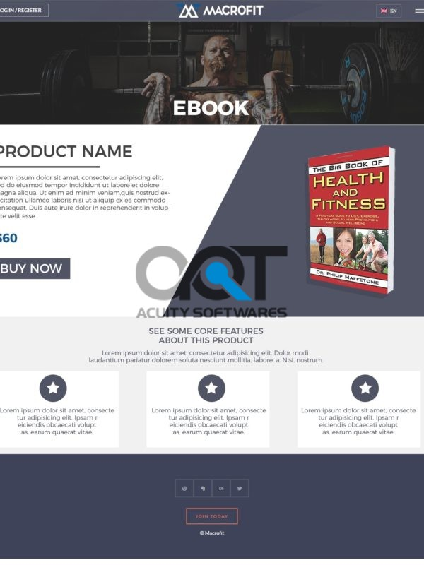 Maxx Printing Website Design - Acuity Software