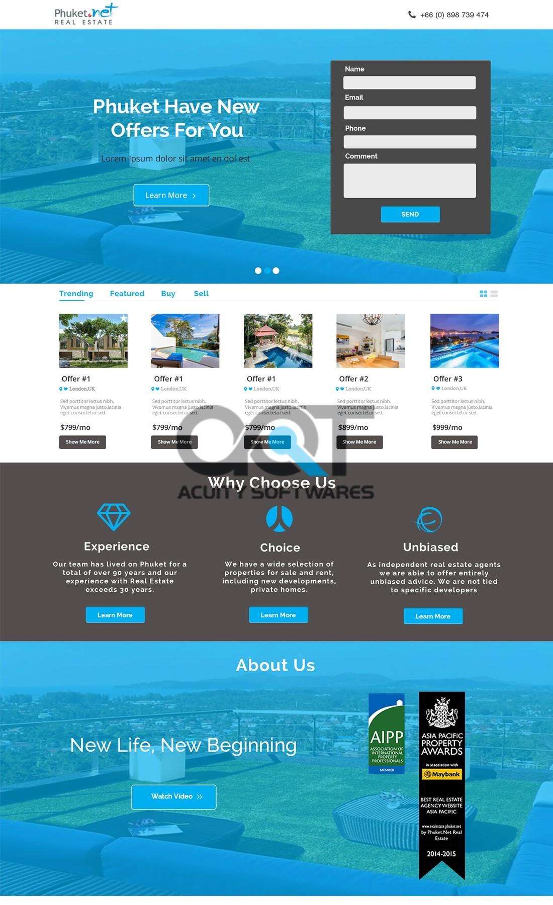 Phucket Website Design
